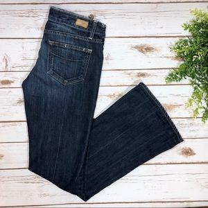 Paige Jeans Laurel Canyon Dark Wash Bootcut Pants